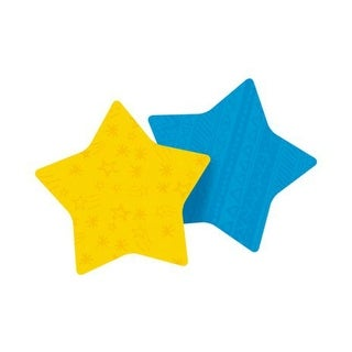 """Post-It 7350-STR Super Sticky Star Notes 2.9""""x2.8"""", Assorted Colour"""