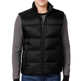 Michael Kors NEW Black Mens Size Small S Mock-Neck Quilted Jacket Vest|https://ak1.ostkcdn.com/images/products/is/images/direct/f35eeb3016897fca329729febb475603b778443f/Michael-Kors-NEW-Black-Mens-Size-Small-S-Mock-Neck-Quilted-Jacket-Vest.jpg?impolicy=medium