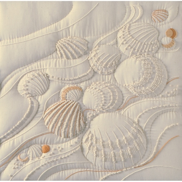 Ocean's Edge Candlewicking Embroidery Kit