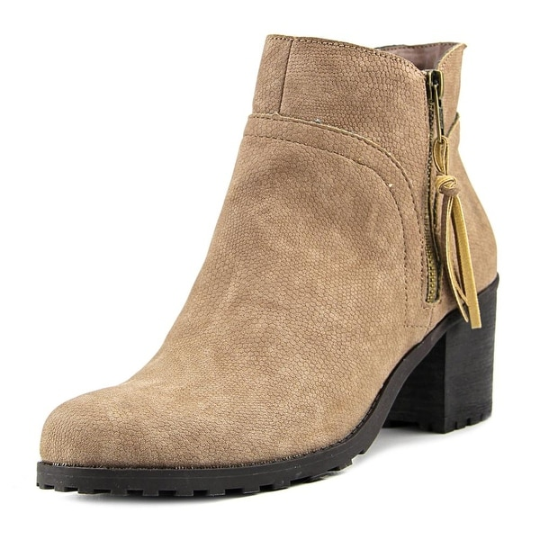 Aerosoles Convincing Women Round Toe Synthetic Tan Ankle Boot