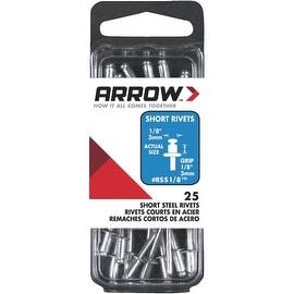 Arrow 1/8X1/8 Stl Rivet