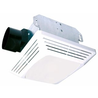 Air King ASF70 70 CFM HVI Certifified 4.0 Sone Bathroom Fan with Light from the