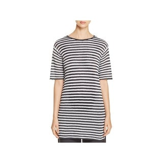 Eileen Fisher Womens Tunic Sweater Linen Striped (4 options available)