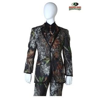 Mossy Oak Camo Tuxedo Coat