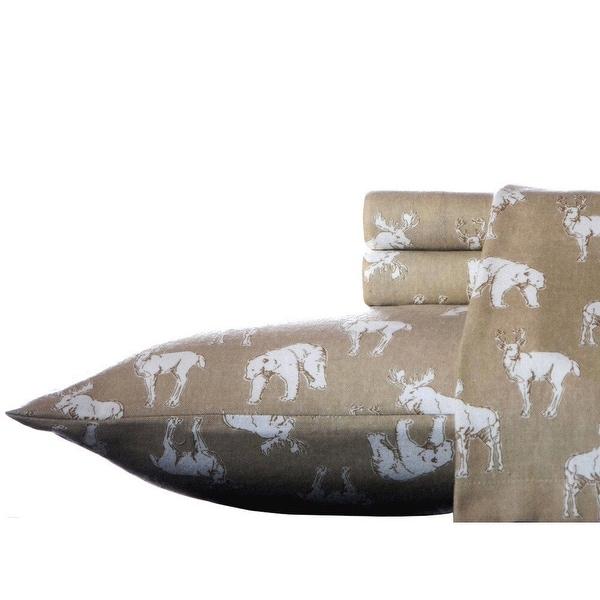 Eddie Bauer Cotton Flannel Bed Sheet Sets. Opens flyout.