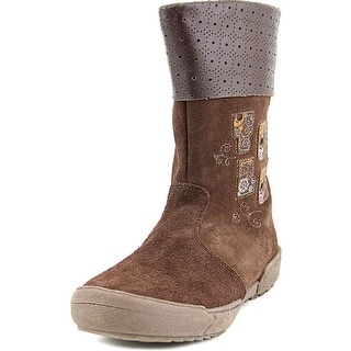 Kid Express by A.N.T. Originals Yolo Round Toe Suede Mid Calf Boot