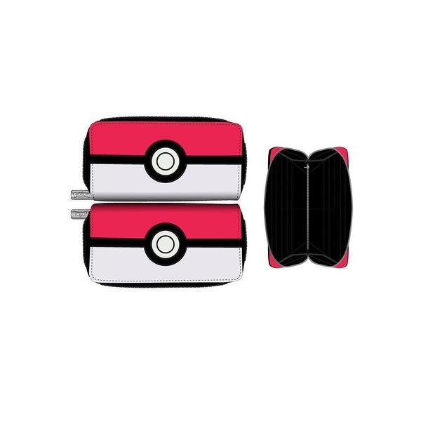 Pokemon Poke Ball Zip Around Wallet