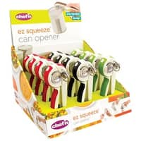 Chef'n 102-160-077 EZ Squeeze Can Opener, Assorted Color