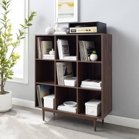 "Liam 9 Cube Bookcase - 15.75""d x 42.25""w x 49.5"