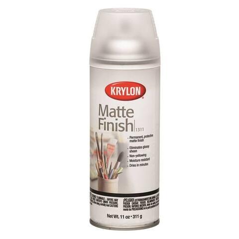 Krylon 1311 Matte Finish Spray Exterior, 11 Oz
