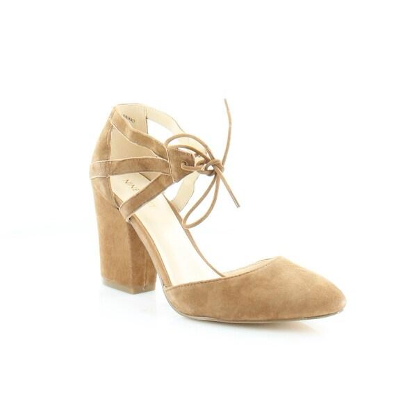Nine West Sabiniano Women's Sandals Dk Nastural - 8