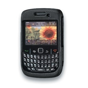 Body Glove - Snap-On Case for Blackberry Curve 8530, 8520, 9330 - Black