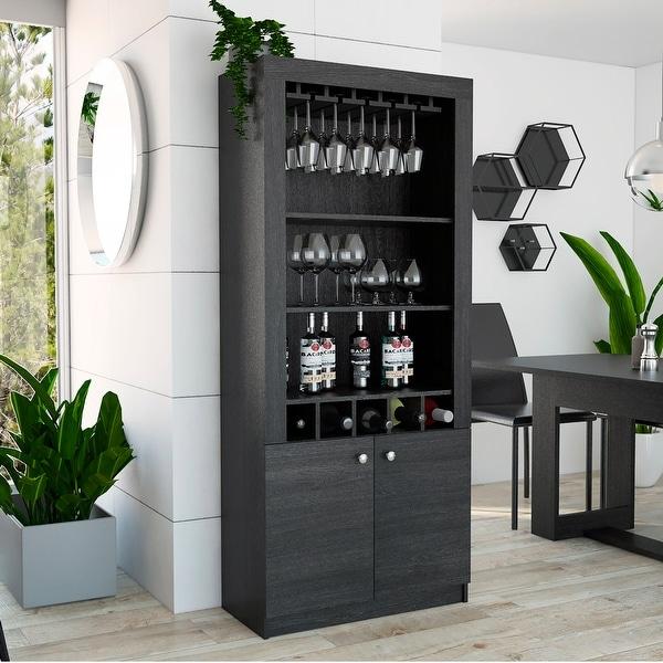 Shop Strick & Bolton Aaron Bar Cabinet