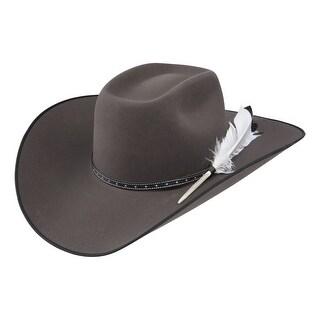 Resistol Cowboy Hat Mens 4X Felt Phantom Granite RWPNTM-794249