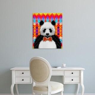 Easy Art Prints Ali Gulec's 'Panda' Premium Canvas Art