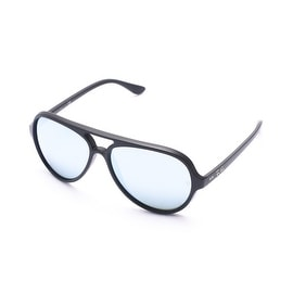 Ray-Ban Cats 5000 Flash Lenses Sunglasses Black - Small