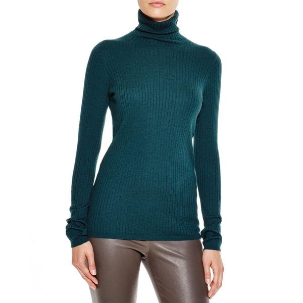 3235d4be2980d Shop Vince Womens Turtleneck Sweater Cashmere Blend Ribbed - Free ...