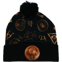 Fantastic Beasts and Where to Find Them Sublimated Macusa Pom Beanie