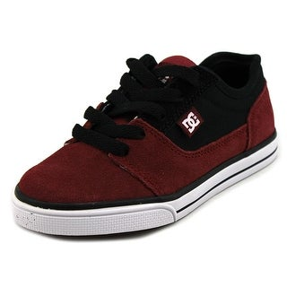DC Shoes Tonik Round Toe Leather Skate Shoe
