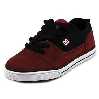 DC Shoes Tonik Round Toe Leather Skate Shoe