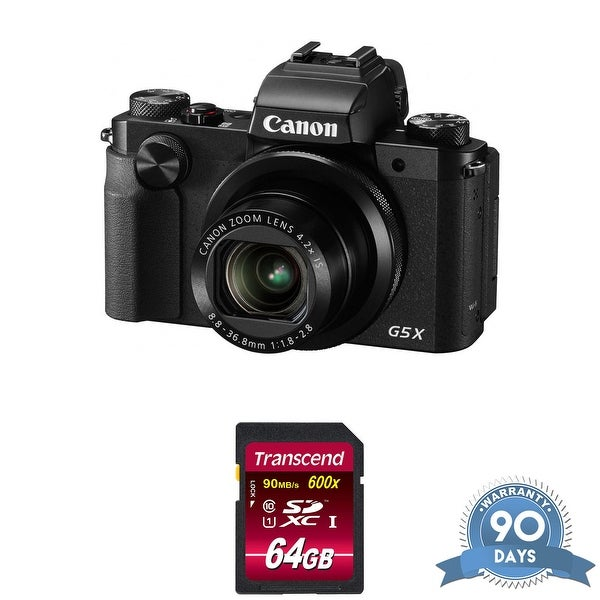 Canon PowerShot G5 X Digital Camera with Memory Card -. Opens flyout.