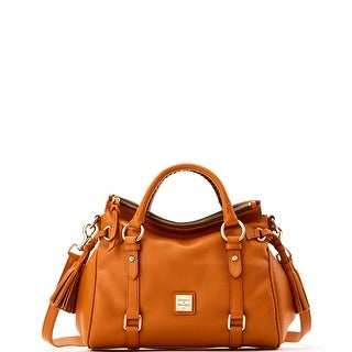 Dooney & Bourke Samba Small Satchel (Introduced by Dooney & Bourke at $368 in Dec 2015) - Desert