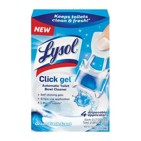 Lysol 1920092918 Click Gel Automatic Toilet Bowl Cleaner, 0.68 OZ