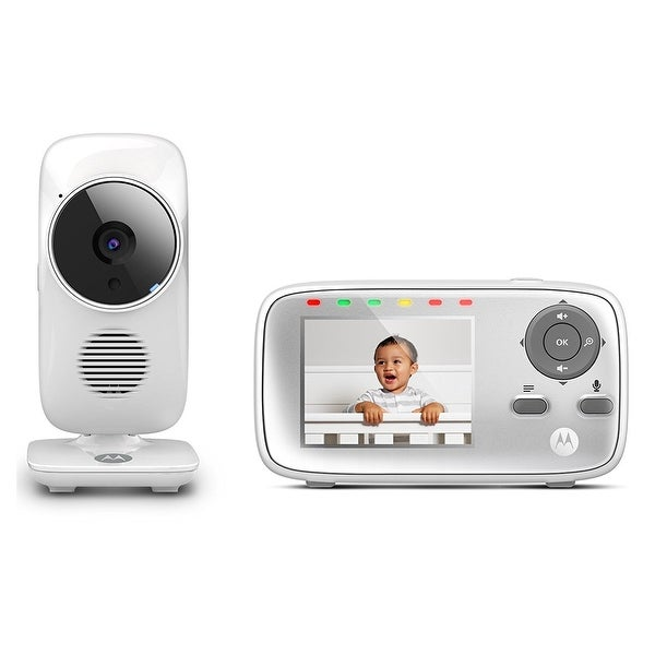 "Motorola MBP483 2.4 GHz Digital Video Baby Monitor with 2.8"" Screen"