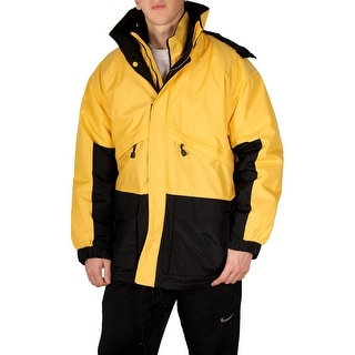 Hartwell Men's 3-In-1 Parka (Option: Yellow)