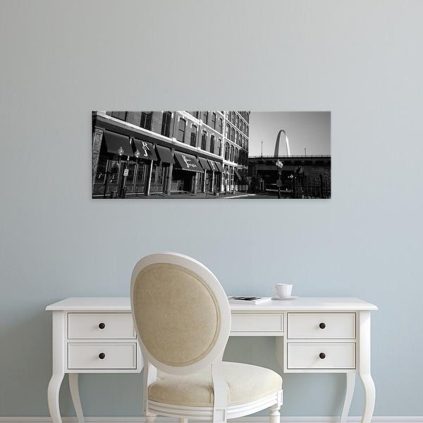 Easy Art Prints Panoramic Images's 'Entrance Of A Building, Old Town, St. Louis, Missouri, USA' Premium Canvas Art