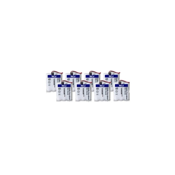 Replacement Uniden BT905 Battery for DXAI4588-2 / EXA3955 / EXI7246P Phone Models (8 Pack)