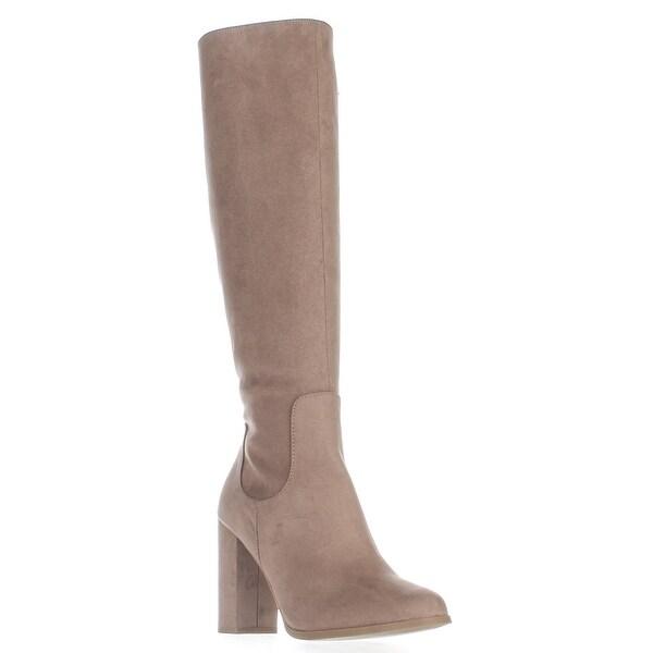 madden girl Klash Knee High Boots, Taupe