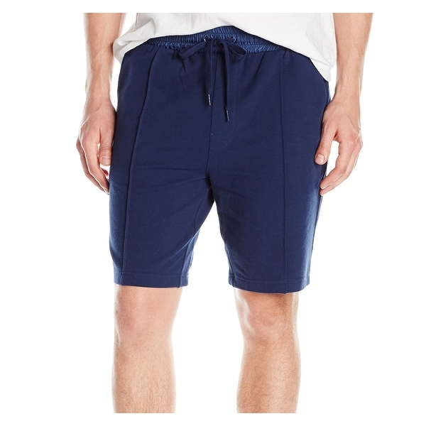 cfea5c7bb891e6 Shop 2XIST Blue Mens Medium M Drawstring Seamed Lounge Sweat Shorts - Free  Shipping On Orders Over  45 - Overstock - 21429711