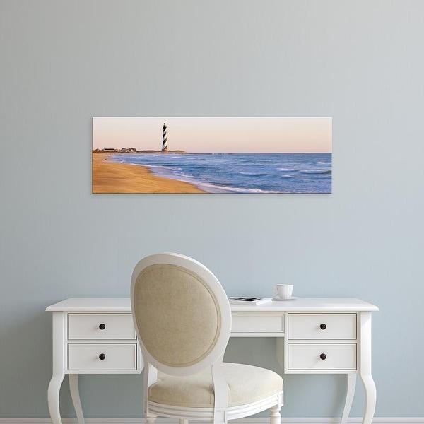 Shop Easy Art Prints Panoramic Image Lighthouse Beach