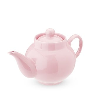 Regan Light Pink Ceramic Teapot & Infuser by Pinky Up®