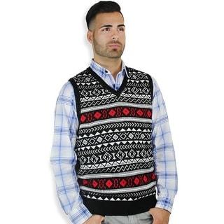 Men's Jaquard Sweater Vest