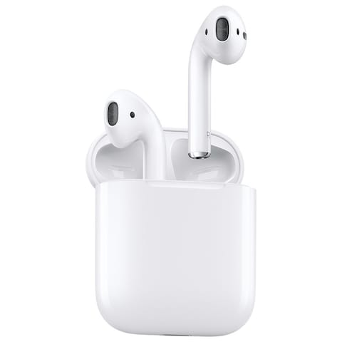 Apple AirPods with Charging Case (1st Generation), White (Certified Refurbished)