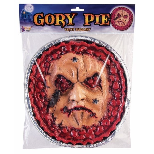 Gory Pie Face Halloween Decoration Prop