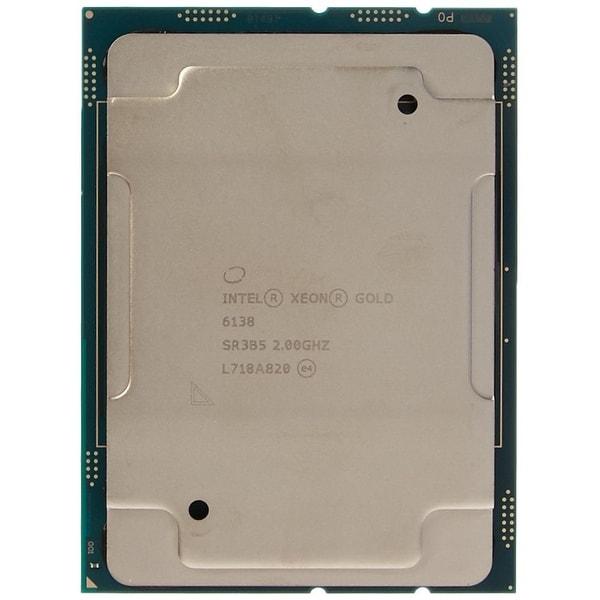 Intel Cpu Bx806736138 Xeon Gold 6138 20C 2.0Ghz 27.5Mb Fc-Lga14 Box