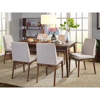 Link to Carson Carrington Lulea Mid-century 7-piece Dining Set Similar Items in Dining Room & Bar Furniture