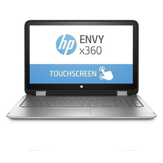 "HP ENVY 15-U483CL 15.6"" Touch Laptop Intel i7-6500U 2.5GHz 12GB 1TB Win10"