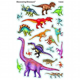 Discovering Dinosaurs Supershapes Stickers Large