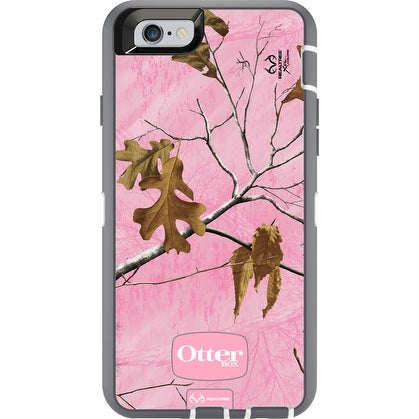 OtterBox Defender Series Case for iPhone 6/6swithHolster - Realtree Xtra Pink