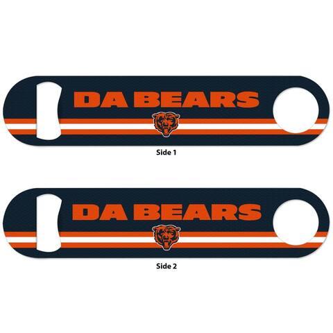 Chicago Bears Da Bears 2-Sided Metal Bottle Opener