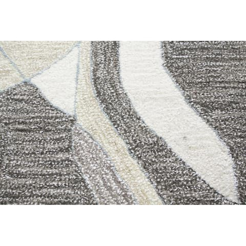 Bashian Major Contemporary Hand Tufted Area Rug