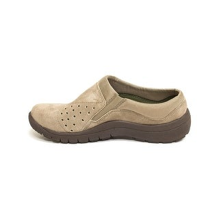 Bare Traps Womens Polina Leather Low Top Slip On Walking Shoes