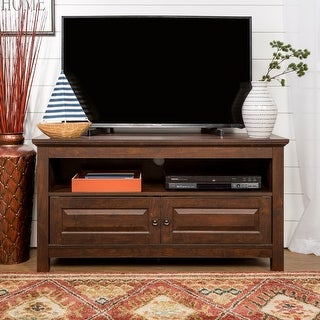 Link to Castalia 44-inch Traditional Brown 2-Door TV Stand Console Similar Items in TV Consoles