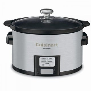 Cuisinart PSC-350 Cuisinart Prgrmbl Slow Cooker Stainless
