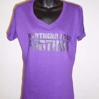 Uni Northern Iowa Panthers Womens M Medium Shirt 67Wa