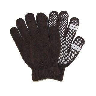 CTM® Women's Grip Knit Texting Winter Gloves
